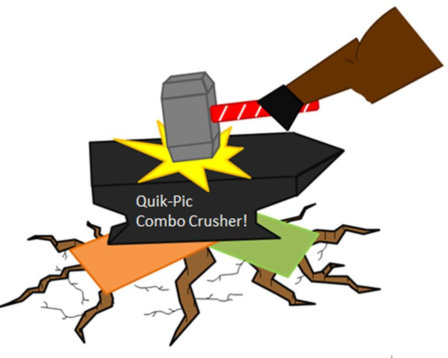 Quik-Pic Combo Crusher, The Software!  #4899