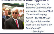 West Coast Racing Race Cards