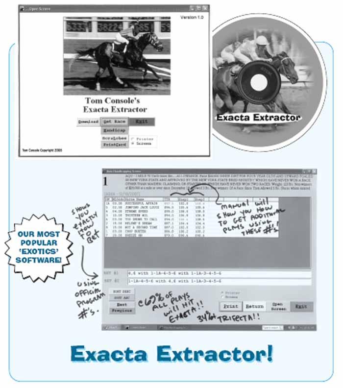 Tom Console's - Exacta Extractor #4370