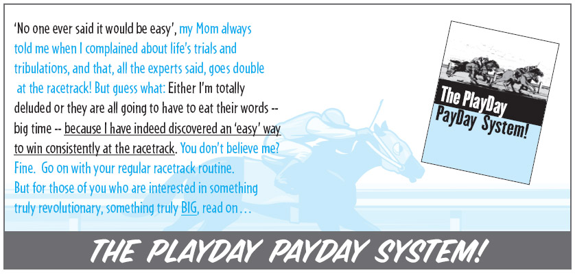 The Playday Payday System!