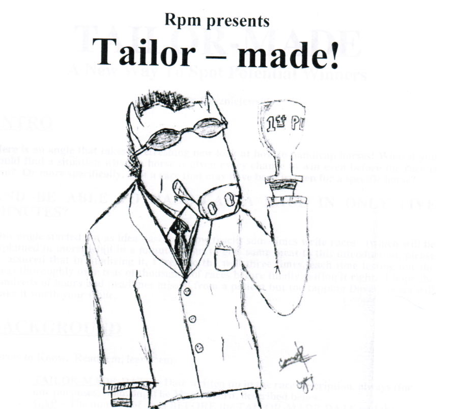 Tailor Made – 'The Magic Word' Software!