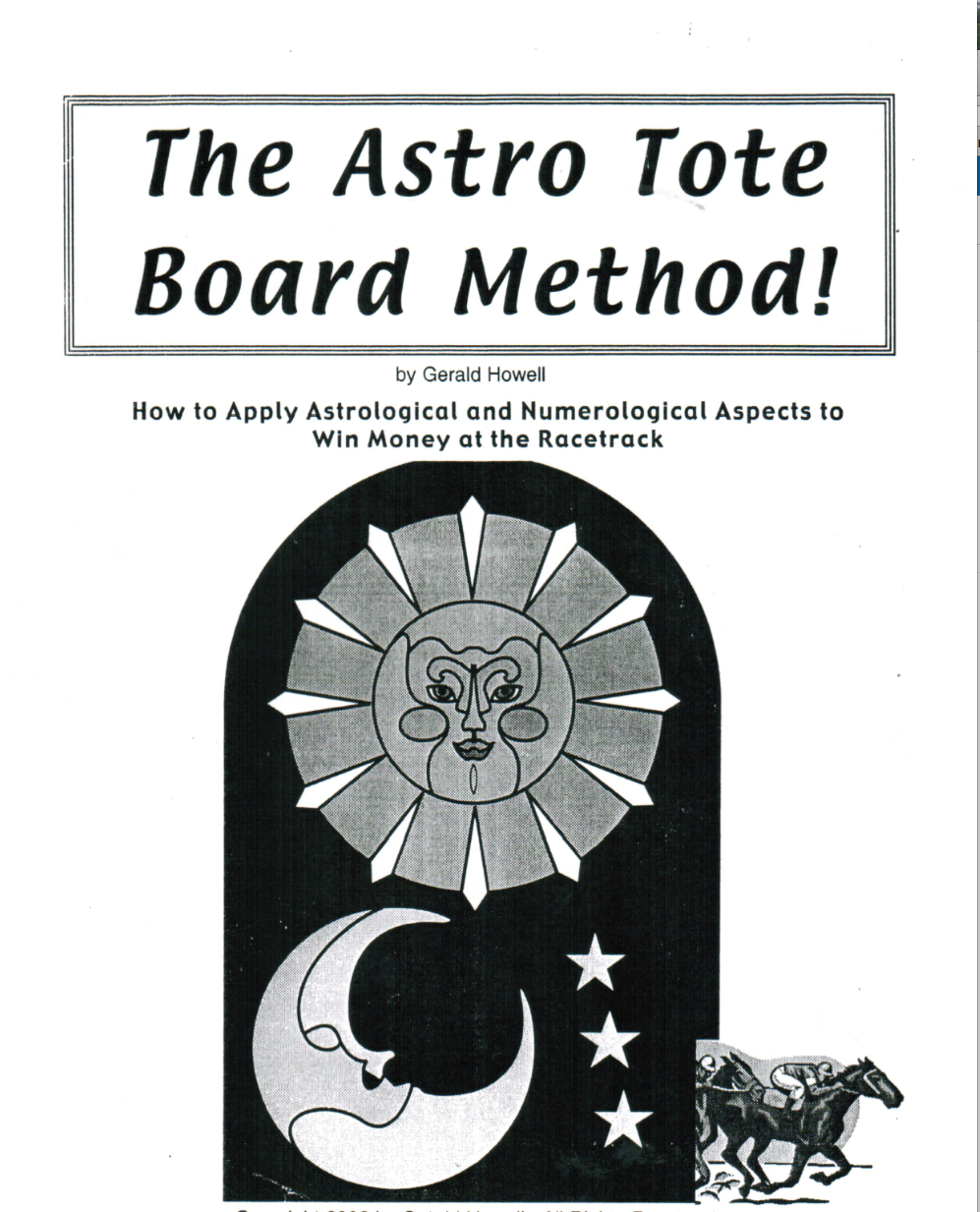 The Astro ToteBoard Selector #4386