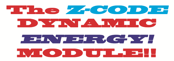 The Z-CODE DYNAMIC ENERGY MODULE!  The First Horse Racing Methodology Ever to Employ Energy Wave Theory – Catches Horses at Their Peak Energy Fitness!