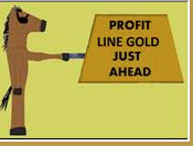 "Jon Worth's Profit-Line, The SOFTWARE!!!  Profit-Line, Gold has an in-the-money hit rate of close to 78%.  Wins occur close to 38% of the time and double-digit prices hit often!"" ++FREE!! Dick Johnson's Saturdays Are Paydays Software!"