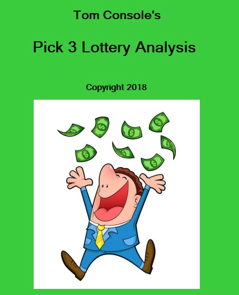 Tom Console's Pick 3 LOTTO Software! Making 'Cents' (&Dollars!) of Random Numbers! Plus FREE Pro Triple Players' Pick 3 Thoroughbred Strategy!